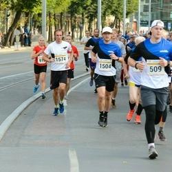 Tallinna Maratoni Sügisjooks 10 km - Indrek Laineveer (1504), Dmitrii Telegin (1574)