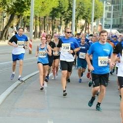 Tallinna Maratoni Sügisjooks 10 km - Argo Põldoja (738), Gunnar Obolenski (1039), Mariliis Hänilane (1108)