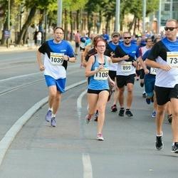 Tallinna Maratoni Sügisjooks 10 km - Gunnar Obolenski (1039), Mariliis Hänilane (1108)