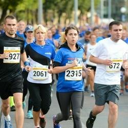 Tallinna Maratoni Sügisjooks 10 km - Margit Orulaid (2061), Cathlyn Olev (2315), Arnis Sevelkovs (2927)