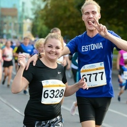 Tallinna Maratoni Sügisjooks 10 km - Triin Kukk (6328), Aarne Kuusmann (6777)