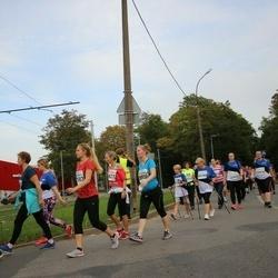 Tallinna Maratoni Sügisjooks 10 km - Marit Preiverk (8621), Kadri Piirsalu (8656), Nele Nahkur (11953), Annika Jõeorg (12432), Liis Palu (12433)
