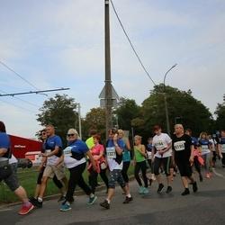 Tallinna Maratoni Sügisjooks 10 km - Anastassia Sever (9194), Maie Järviste (9195), Virve Möls (11225), Anne Piik (11327)