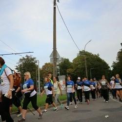 Tallinna Maratoni Sügisjooks 10 km - Olga Makejeva (10446), Aare Tatjana (10485), Pille Liiv (11089), Marju Aas (11149)