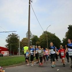 Tallinna Maratoni Sügisjooks 10 km - Kersti Möll (10569), Eha Möll (10571), Margo Sommer (11822), Berit Laanem (11823), Sebastian Veinpere (12460)