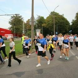 Tallinna Maratoni Sügisjooks 10 km - Illar Irves (6150), Liis Elts (9664), Annika Mikk (9668), Kristjan Valmet (9671)