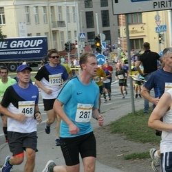 Tallinna Maratoni Sügisjooks 10 km - Raimo Tropp (287), Ago Lilleorg (468)