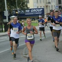 Tallinna Maratoni Sügisjooks 10 km - Agne Kivisaar (506), Kalle Tammemäe (531)