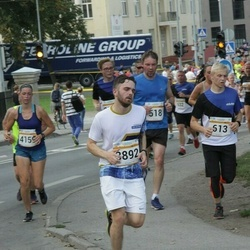 Tallinna Maratoni Sügisjooks 10 km - Mihkel Sudarinen (613), Morten Kaasik (3892), Agate Kristapsone (4159)