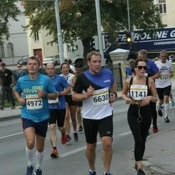 Tallinna Maratoni Sügisjooks 10 km - Arlis Pipenberg (4972), Mart Kaseväli (6630)