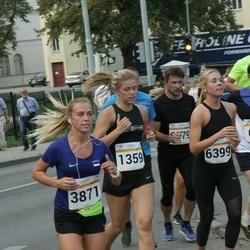 Tallinna Maratoni Sügisjooks 10 km - Luise Runtal (1359), Annely Aston (3871)
