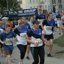 Tallinna Maratoni Sügisjooks 10 km - Ene Leipalu (1532), Kaie Valk (2843), Andre Jermakov (3729), Venno Press (5506)