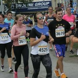 Tallinna Maratoni Sügisjooks 10 km - Artur Müür (3670), Mari-Liis Sammul (3671), Tiina-Ann Turu (4525)