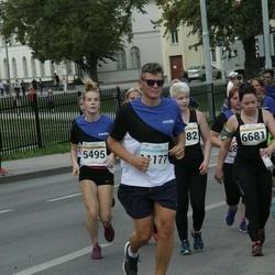 Tallinna Maratoni Sügisjooks 10 km - Cätrin Rikka (5495), Mikk Orglaan (11177)