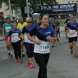 Tallinna Maratoni Sügisjooks 10 km - Diana Mälter (4308), Karmel Laissar (5085), Anneli Seppago (5773), Mari-Liis Aron (11408)