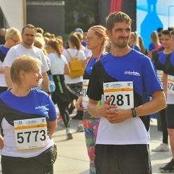 Tallinna Maratoni Sügisjooks 10 km - Tarmo Seppago (5281), Anneli Seppago (5773)