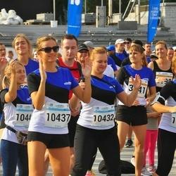 Tallinna Maratoni Sügisjooks 10 km - Ksenia Sakir (868), Madle Annus (3041), Anastasia Jefimova (5609), Jekaterina Kuntsmann (10432), Aljona Lavrova (10437), Lina Maiakova (10445), Irina Kuznetsova (12234)
