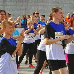 Tallinna Maratoni Sügisjooks 10 km - Sirje Liivassaar (2594), Martin Parmas (2866), Anneli Seppago (5773)