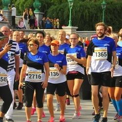 Tallinna Maratoni Sügisjooks 10 km - Annely Kaur (1136), Deniss Peld (1365), Juli Guralnik (2716), Dan Woltinski (5545), Heli Kallas (8548)