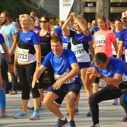 Tallinna Maratoni Sügisjooks 10 km - Katrin Paberit (1347), Deniss Peld (1365), Riina Mardla (2722), Age Utt (12473)