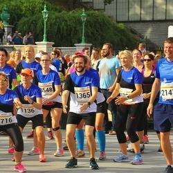 Tallinna Maratoni Sügisjooks 10 km - Annely Kaur (1136), Deniss Peld (1365), Aleksandr Shokin (2147), Juli Guralnik (2716)
