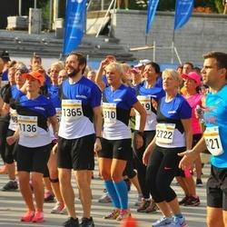Tallinna Maratoni Sügisjooks 10 km - Annely Kaur (1136), Deniss Peld (1365), Riina Mardla (2722), Sirje Lott (8229)