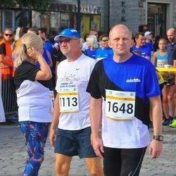 Tallinna Maratoni Sügisjooks 10 km - Gunnar Vooremäe (1113), Ago Pukspuu (1648)