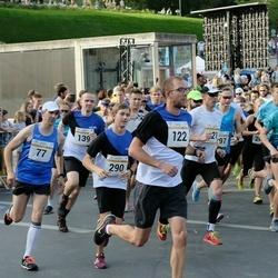 Tallinna Maratoni Sügisjooks 10 km - Mart Seedre (122), Christopher Christjan Lään (290)