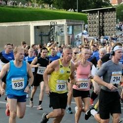 Tallinna Maratoni Sügisjooks 10 km - Hugo Toll (938), Ando Hermsalu (939)
