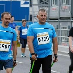 Tallinna Maratoni Sügisjooks 10 km - Toomas Kõiv (8907), Alexander Mamontov (9759)