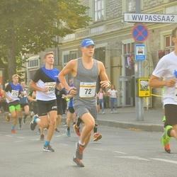Tallinna Maratoni Sügisjooks 10 km - Rinel Pius (72), Risto Kaljund (138), Armin Allmäe (4271), Kaspar Päärson (6066)