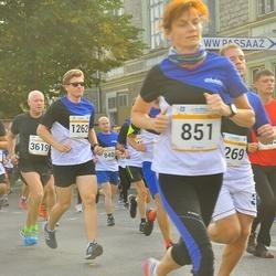 Tallinna Maratoni Sügisjooks 10 km - Urmas Lepik (616), Andre Tammik (1262)