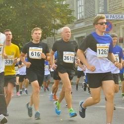 Tallinna Maratoni Sügisjooks 10 km - Ivo Unt (564), Urmas Lepik (616), Andre Tammik (1262), Trond Wangen (3619)