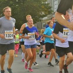 Tallinna Maratoni Sügisjooks 10 km - Christina Karro (471), Andzei Kuznets (1324)