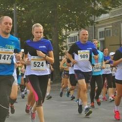Tallinna Maratoni Sügisjooks 10 km - Janne Urbas (524), Aarne Lätte (989), Tiit Soe (1474)