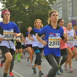 Tallinna Maratoni Sügisjooks 10 km - Cathlyn Olev (2315), Richard Liiv (3625)