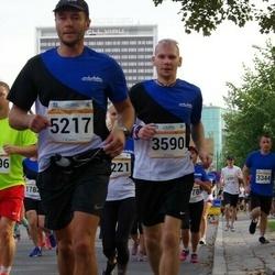Tallinna Maratoni Sügisjooks 10 km - Aare Treier (3590), Jaanus Paju (5217)