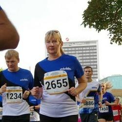 Tallinna Maratoni Sügisjooks 10 km - Magnus Kvell (1234), Anneli Vellerind (2655)