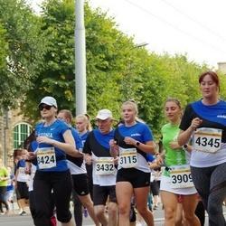 Tallinna Maratoni Sügisjooks 10 km - Annabel Pern (3115), Ave Meier (3424)