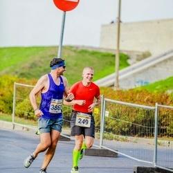 Tallinna Maratoni Sügisjooks 10 km - Arno Kärg (249), Vladimir Selec (3862)