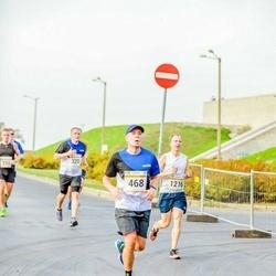 Tallinna Maratoni Sügisjooks 10 km - Ago Lilleorg (468), Kristjan Pals (1216)