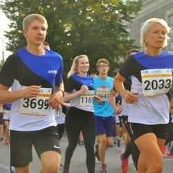 Tallinna Maratoni Sügisjooks 10 km - Merje Kallip (2033), Andi Nõmmela (3699)