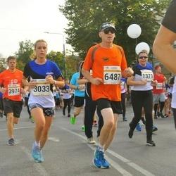 Tallinna Maratoni Sügisjooks 10 km - Catherine Gibson (3033), Pekka Paajanen (6487)