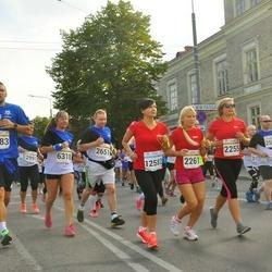 Tallinna Maratoni Sügisjooks 10 km - Ragnar Selberg (1383), Inese Grigale (2255), Mairita Bebriša (2261), Aleksei Stsetinin (2651), Tatjana Turanina-Ustinova (6318)