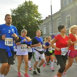 Tallinna Maratoni Sügisjooks 10 km - Ragnar Selberg (1383), Mairita Bebriša (2261), Aleksei Stsetinin (2651), Tatjana Turanina-Ustinova (6318)