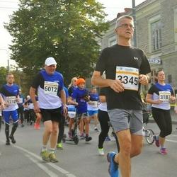 Tallinna Maratoni Sügisjooks 10 km - Jon M Mike Boka (3345), Aavo Halling (6012)