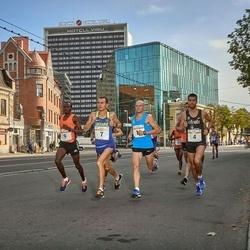 Tallinna Maratoni Sügisjooks 10 km - Karel Hussar (4), Yuriy Rusyk (7), Weldom Kerich (9)