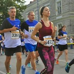 Tallinna Maratoni Sügisjooks 10 km - Branislav Koniar (3361), Camesha Powell (3473)