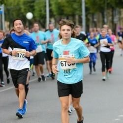Tallinna Maratoni Sügisjooks 10 km - Aaron Thor Härm (6760)