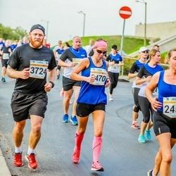 Tallinna Maratoni Sügisjooks 10 km - Annika Koppel (3470), Veigo Koppel (3724)